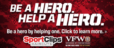 Sport Clips Haircuts of Chicago - Diversey ​ Help a Hero Campaign